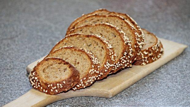 Pan integral fermentado, sin levadura