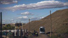 Ruta escolar en Cañada Real. @Fundación Mutua