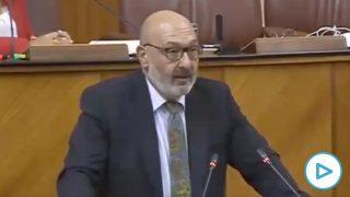 Alejandro Hernández, portavoz de Vox Andalucía.