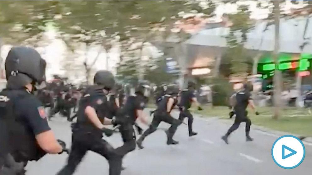 Carga de la Policía