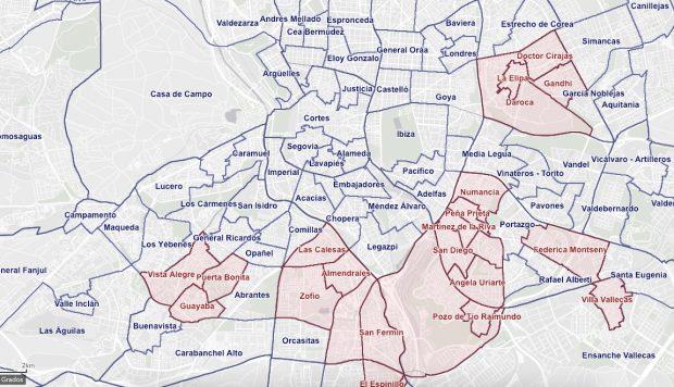 Madrid extiende las restricciones a 167.000 habitantes en 8 zonas y rechaza el confinamiento total