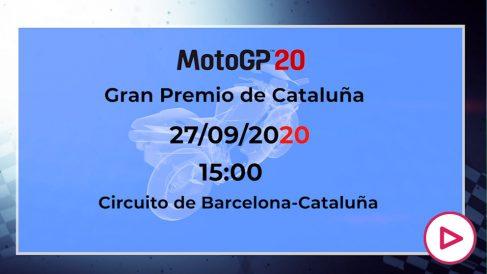 MotoGP Cataluña 2020: horario y dónde ver en directo el GP de Cataluña por TV.