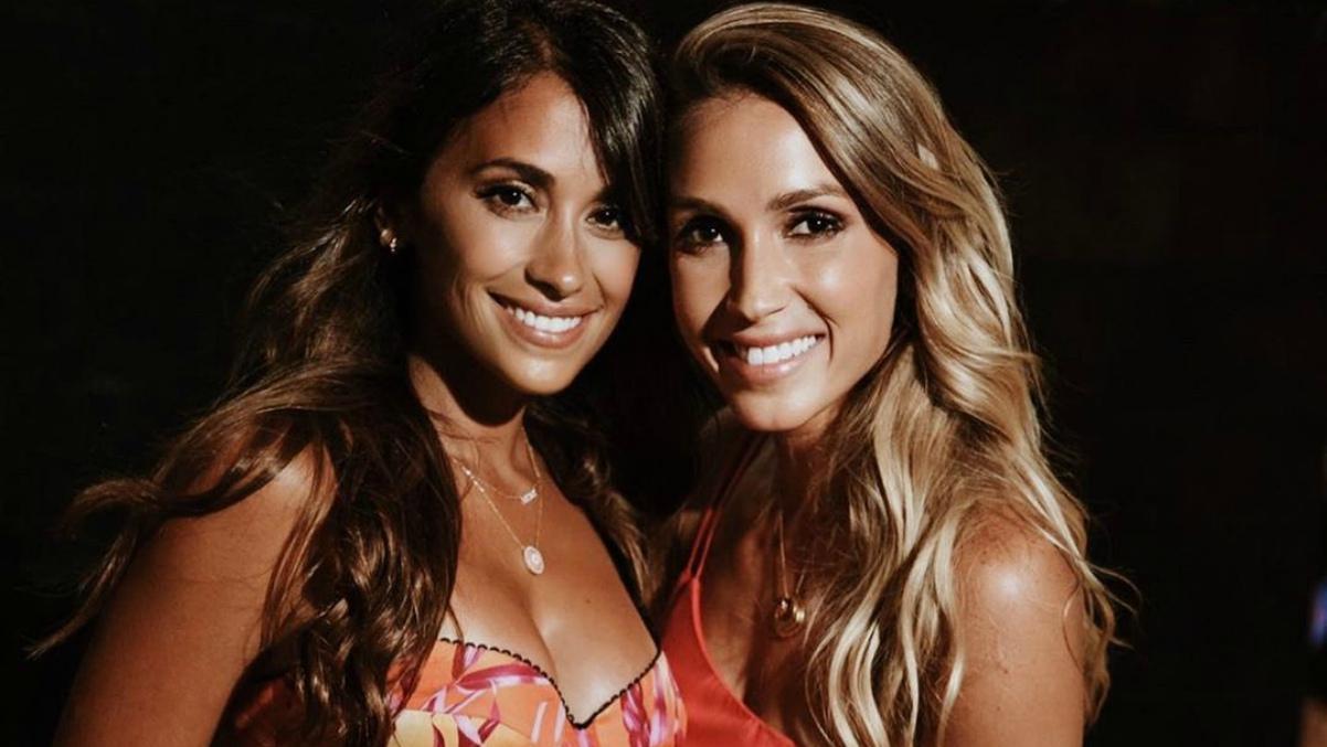 Antonella y Sofía Balbi en una foto de Instagram-