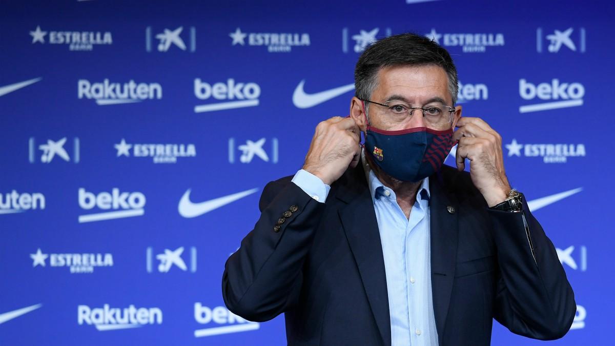 Josep María Bartomeu, durante un acto. (AFP)