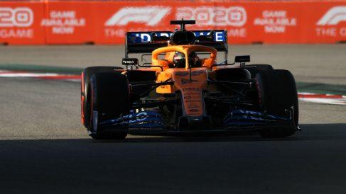 Carlos Sainz en el Gran Premio de Rusia. (Getty)