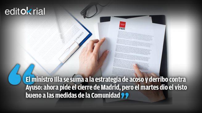 Quieren hundir Madrid para hundir a Ayuso