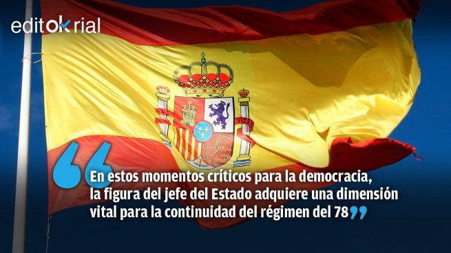 El Rey es la Constitución, la Constitución es la democracia