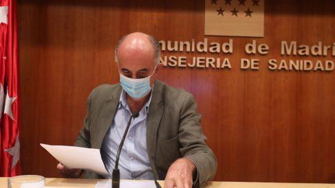 El viceconsejero de Salud Pública y Plan Covid-19, Antonio Zapatero. Foto. EP