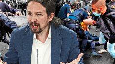 El vicepresidente Pablo Iglesias ha llegado a decir que la Policía son «matones al servicio de los ricos».