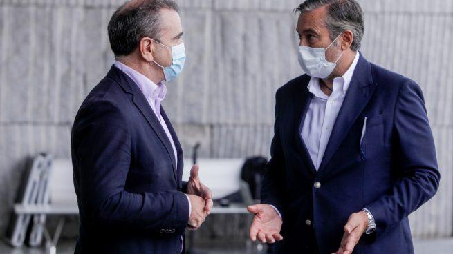 José Manuel Franco y Enrique López. (Europa Press)