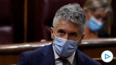 Marlaska sabrá el nombre de quien se manifieste contra Sánchez accediendo a las IPs de los móviles