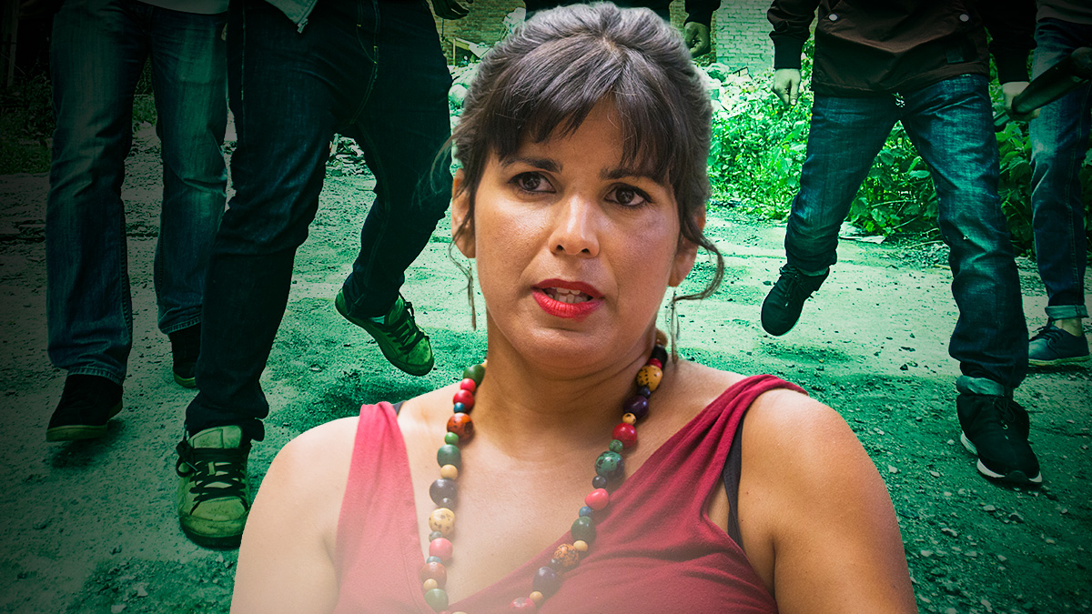 Los de Teresa Rodríguez exigen «papeles para todas las personas que viven en España».