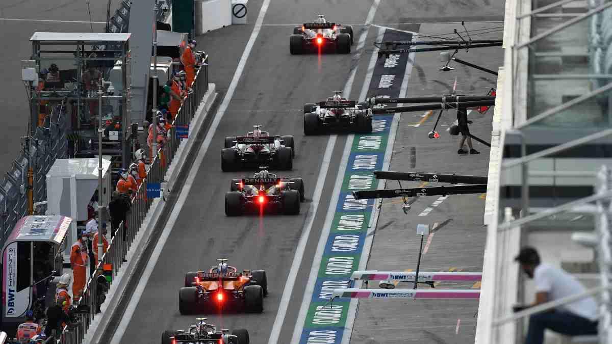 Fórmula 1. (AFP)