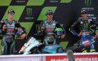Morbidelli, Quartararo y Rossi