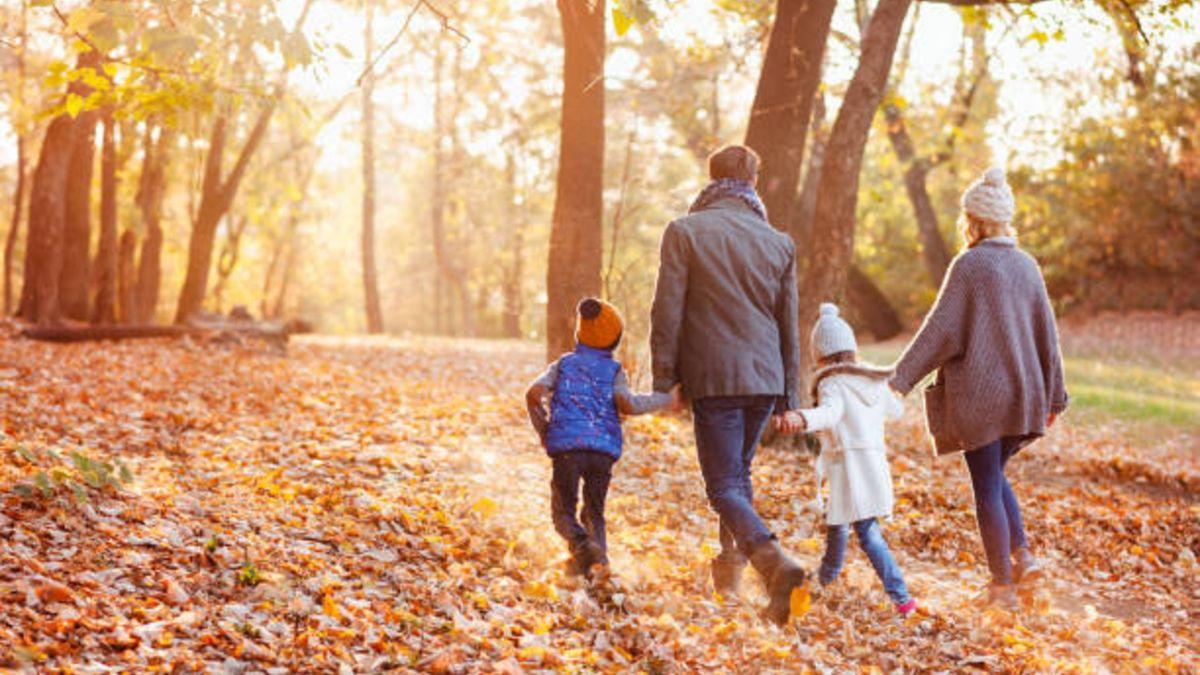 Los beneficios de salir a caminar con los niños
