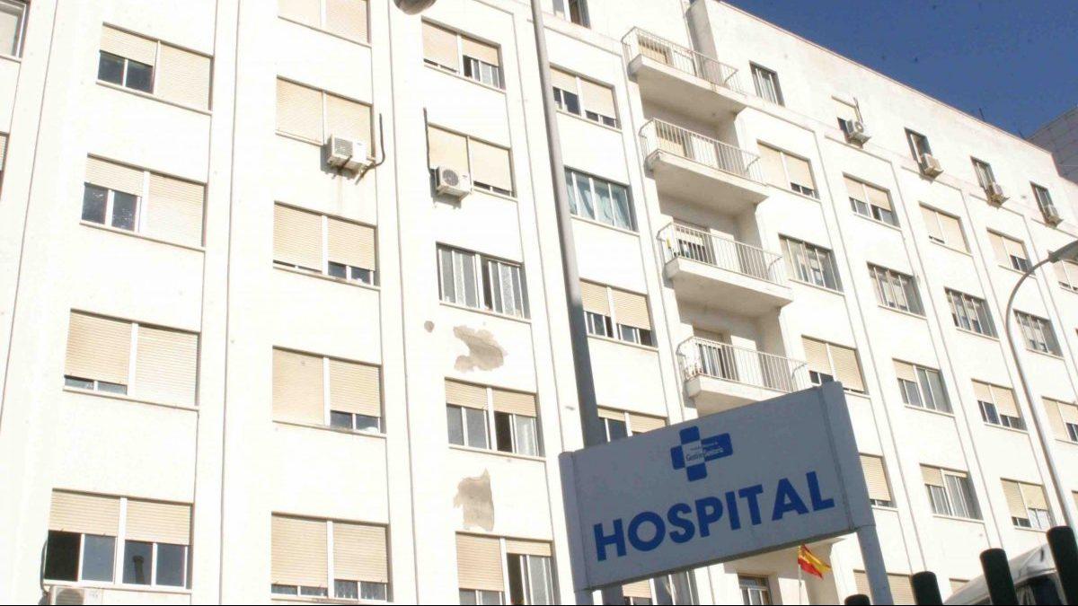 VISTA EXTERIOR DEL HOSPITAL DE CEUTA