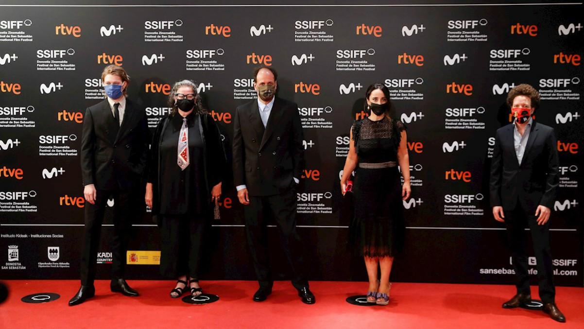 Jurado del 68 Festival Internacional de Cine de San Sebastián.(Efe)