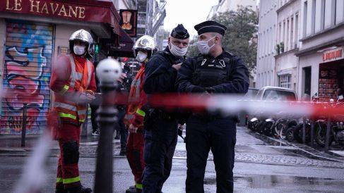 Lugar del ataque cerca de 'Charlie Hebdo'. Foto: EP