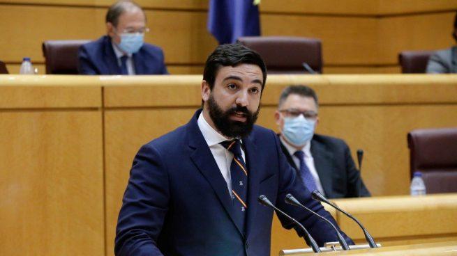 El senador de Vox Jacobo González-Robatto.