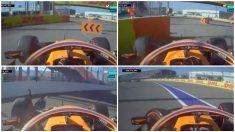 Abandono de Carlos Sainz en el GP de Rusia de Fórmula 1.