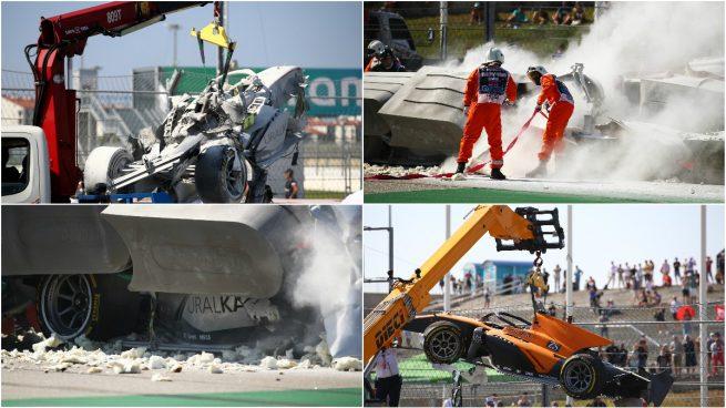 Accidente Formula 2