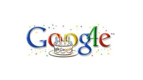 Cumpleaños Google