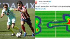Joao Félix ante el Granada y el tuit humillante del patrocinador del club nazarí.