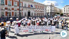 protesta ayuso madrid