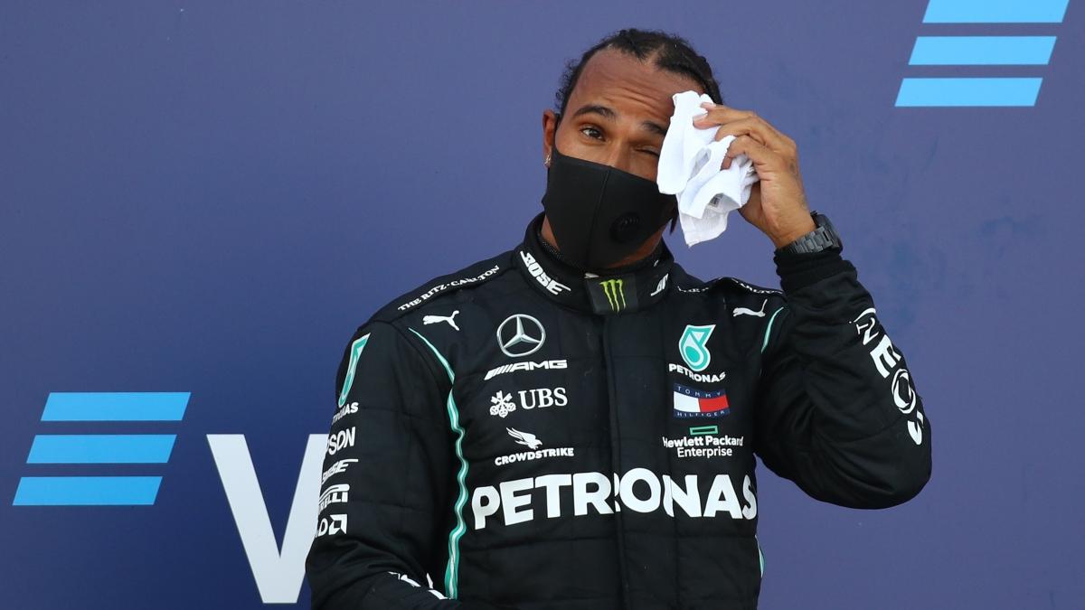 Lewis Hamilton. (AFP)