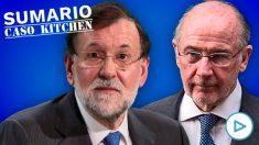 Mariano Rajoy y Rodrigo Rato.