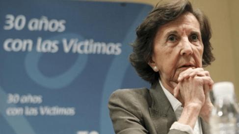Ana María Vidal-Abarca, impulsora de la AVT. @EFE