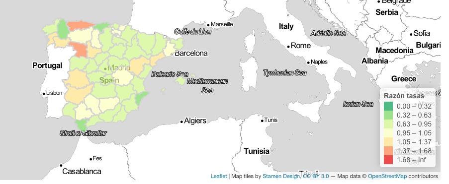 El número de contagiados en cada foco de Covid en Madrid sigue descendiendo