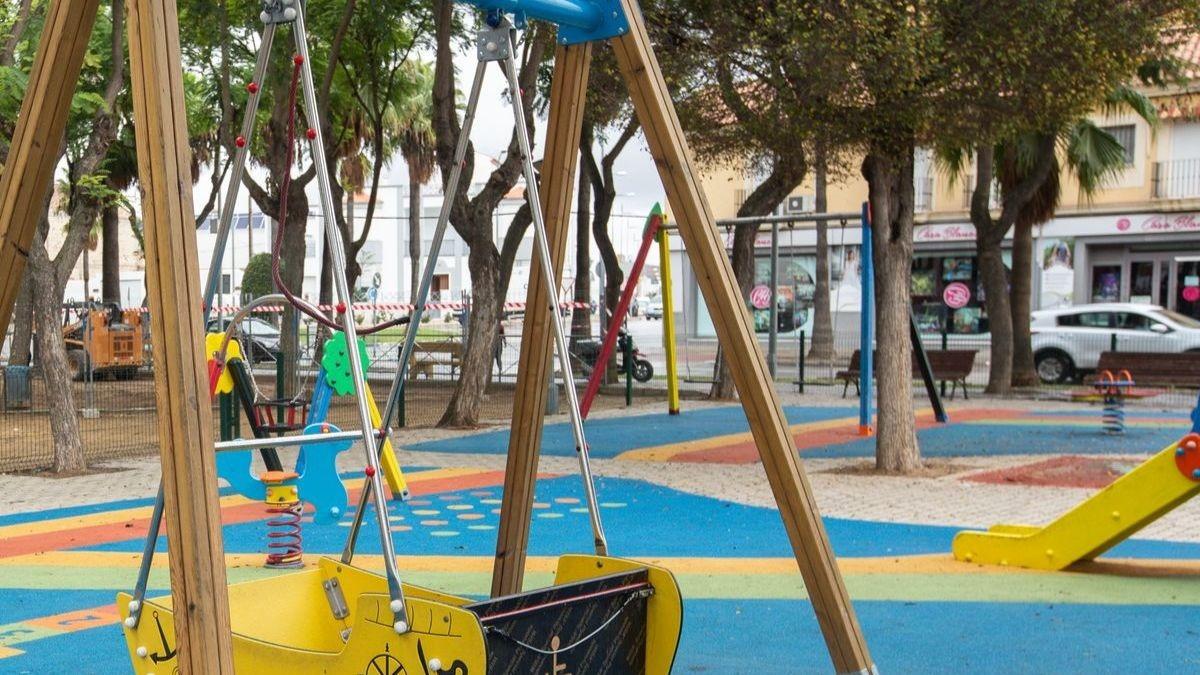 Parque infantil en Sevilla