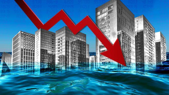 Las empresas hunden sus resultados un 70% y entran en pérdidas por primera vez desde 2002