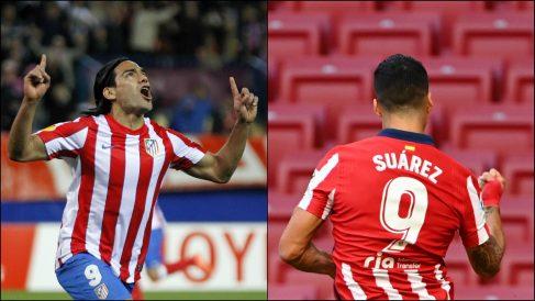 Luis Suárez y Radamel Falcao.