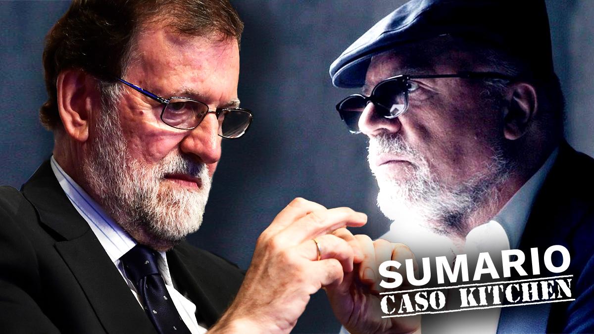 Mariano Rajoy y José Manuel Villarejo