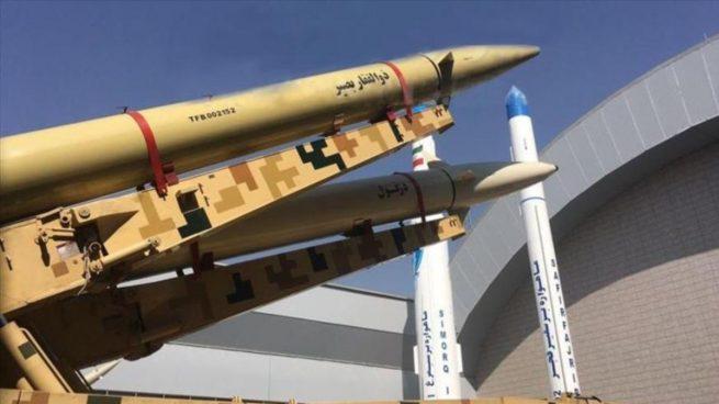 Irán presenta un nuevo misil balístico en plena tensión con Washington