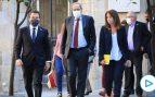 Torra acusa al Estado de dar un «golpe» contra él y pide a los catalanes que «empujen»