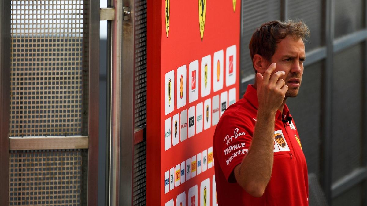 Sebastian Vettel, piloto de Ferrari. (AFP)
