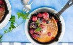 Receta de bizcocho fácil a la sartén sin huevo