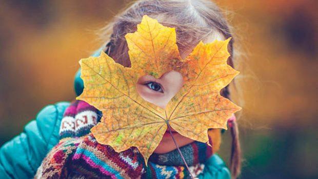 Cómo hacer coronas de otoño con los niños