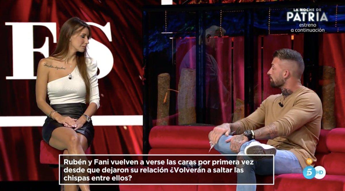 Fani y Rubén en 'La isla de las tentaciones 2'