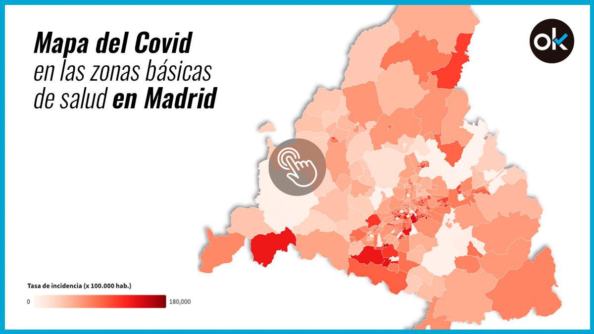 Zonas básicas de salud en Madrid.