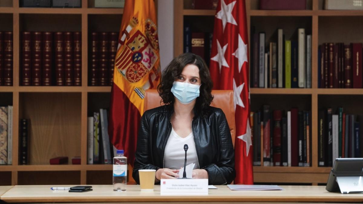 Isabel Díaz Ayuso. (Foto: Comunidad)
