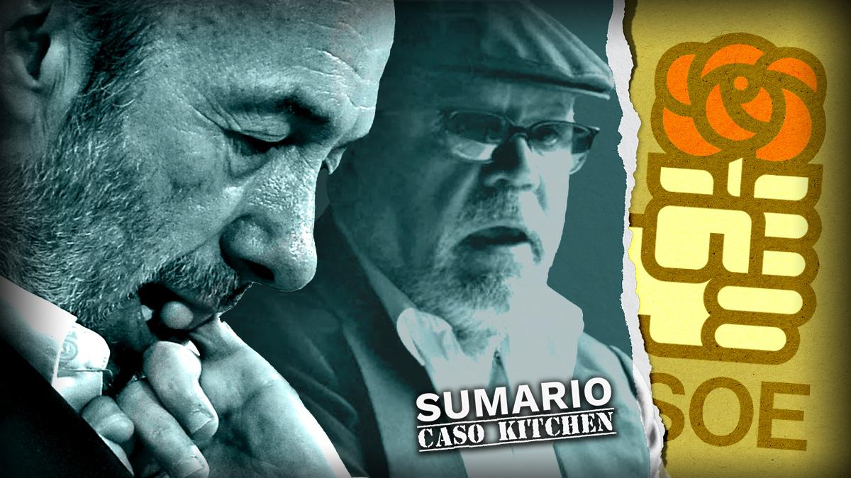 Villarejo habla de Rubalcaba en los audios de Kitchen
