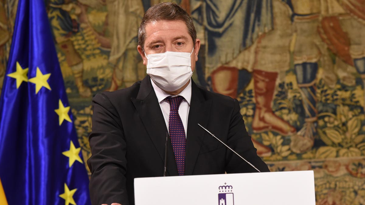 El presidente de Castilla-La Mancha, Emiliano García-Page. Foto: EP
