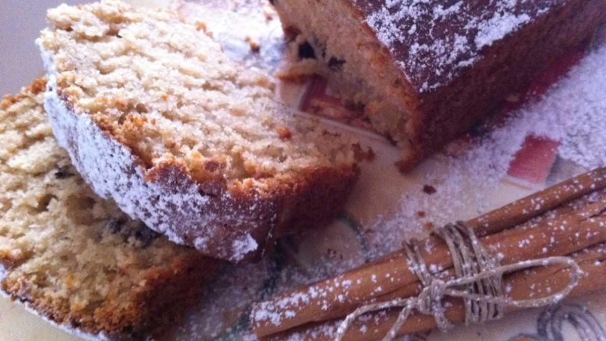 Receta de Cake de canela, frutos secos y sésamo