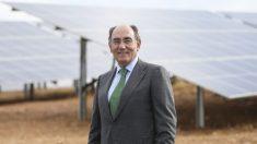 Ignacio Galán, presidente de Iberdrola en planta de Andévalo (Huelva) @Iberdrola