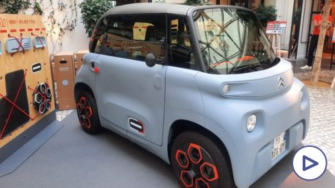Citroën Ami: la solución de movilidad con cuatro ruedas que podrás conducir desde los 15 años.