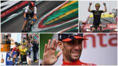 Geraint Thomas, Simon Yates, Steven Kruijswijk y Vincenzo Nibali, favoritos para el Giro de Italia 2020.